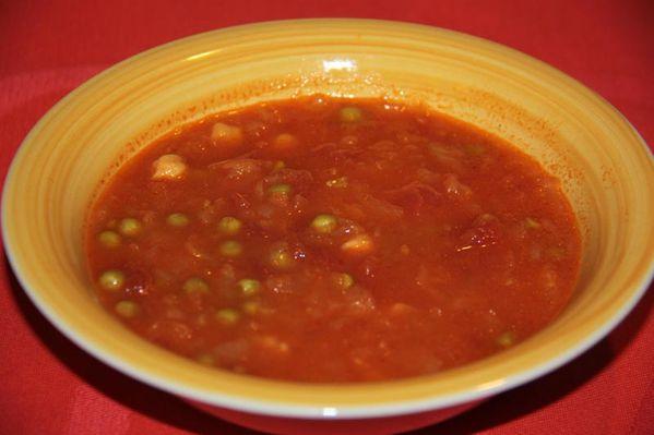Soupe à l'oignon à la marocaine (au Thermomix ou sans)