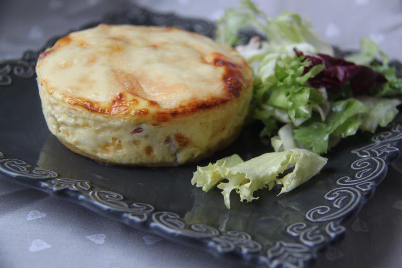 Tartelettes lardons / raclette