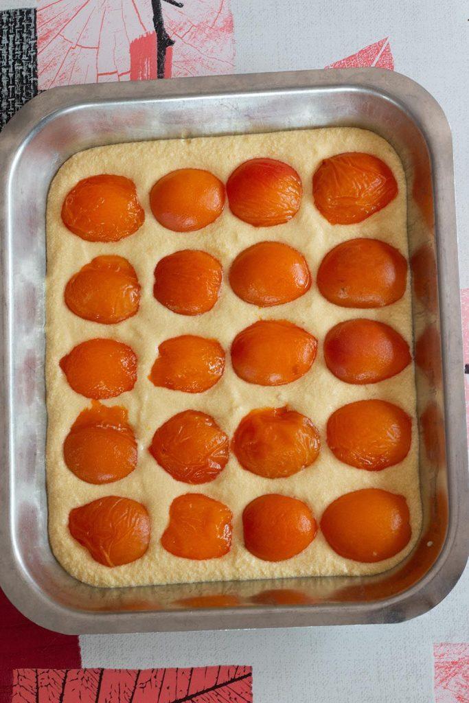 Délices aux abricots