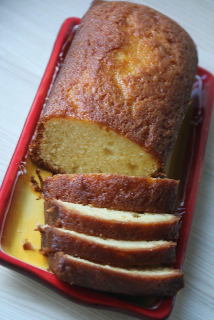 Cake à l'orange de Pierre Hermé