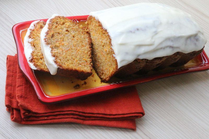 Carotte Cake Américain (recette Tupperware)