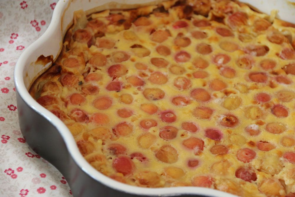 Clafoutis aux cerises (recette de Pierre Hermé)