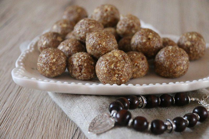 Energie balls aux noix de pécan et sirop d'érable