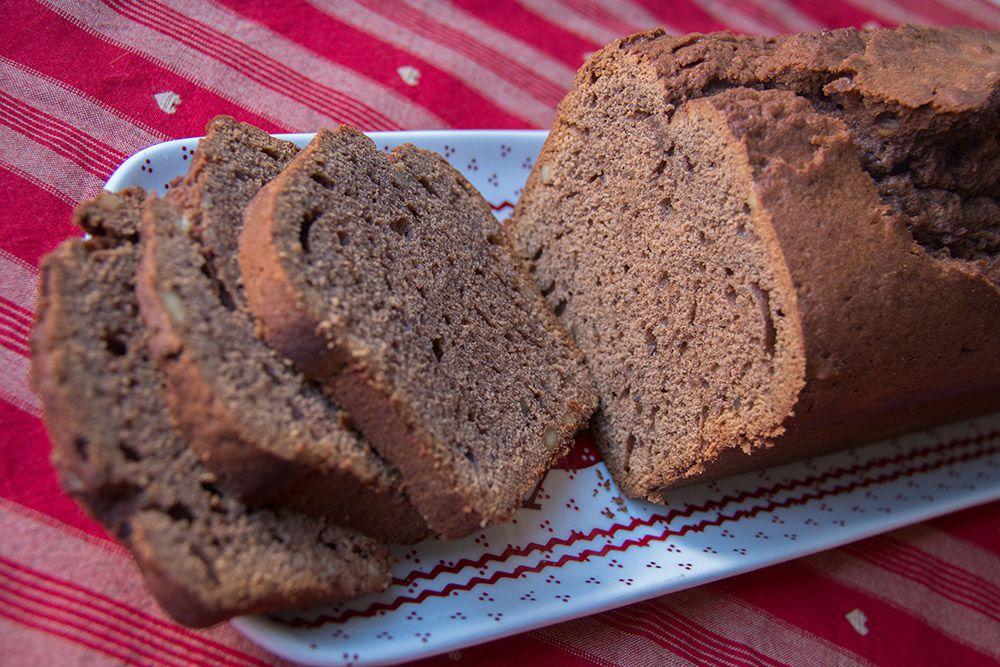 Gâteau au café et aux noix façon Gesundheitskuchen