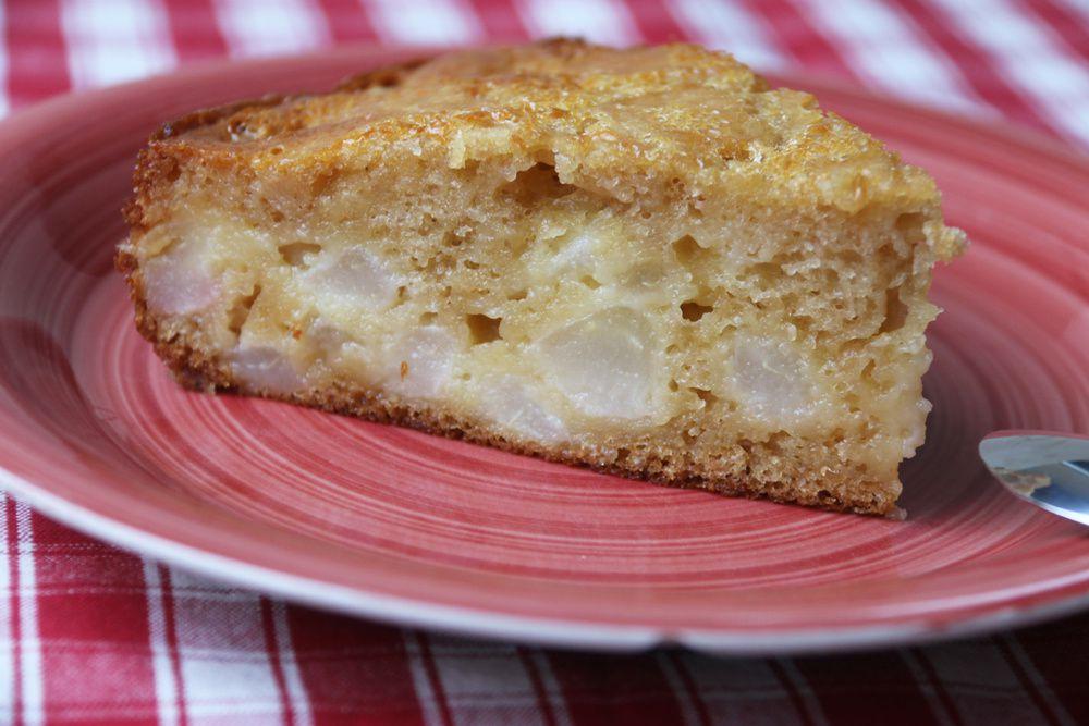 Gâteau cocotte aux poires