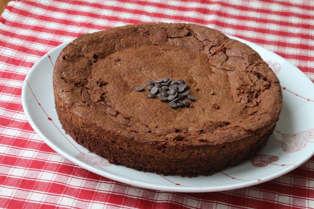 Gâteau moelleux sans gluten aux pépites de chocolat