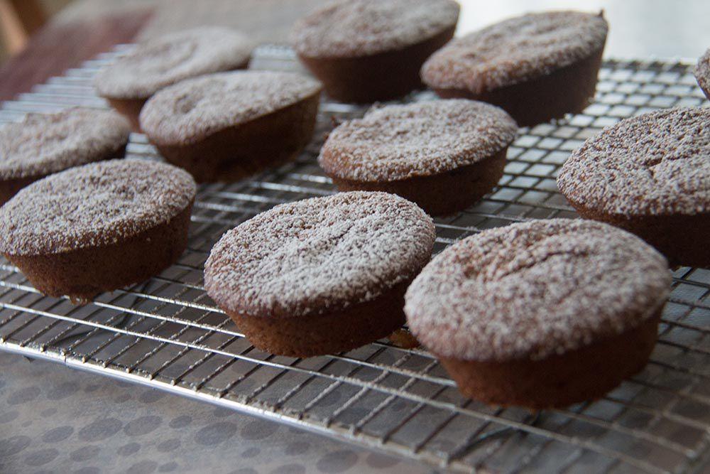 Gâteaux aux noix caramélisées de Philippe Conticini
