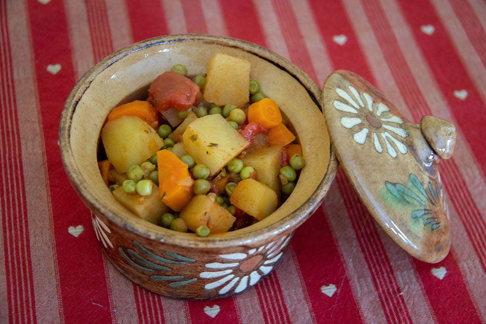 Légumes mijotés (au Cookeo)