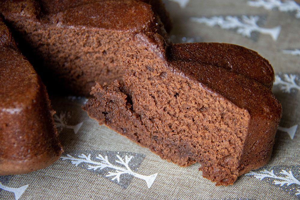 Moelleux chocolat et crème de marrons