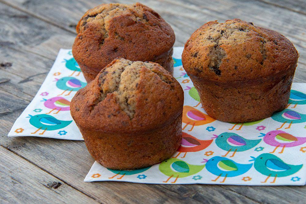Muffins Américains Ultra Moelleux cœur de Nutella