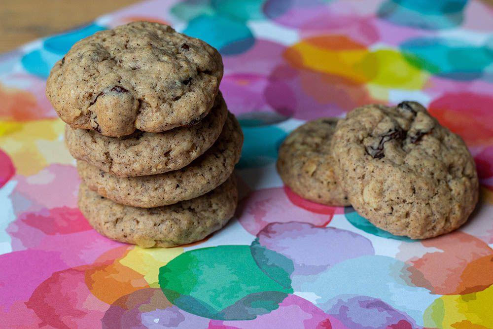 Oatmeal Cookies (cookies à l'ancienne de Laura Todd)