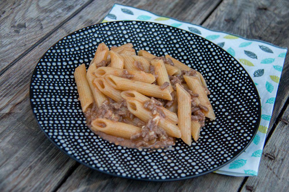 One Pot Pasta au boeuf et au cheddar (au Cookeo)
