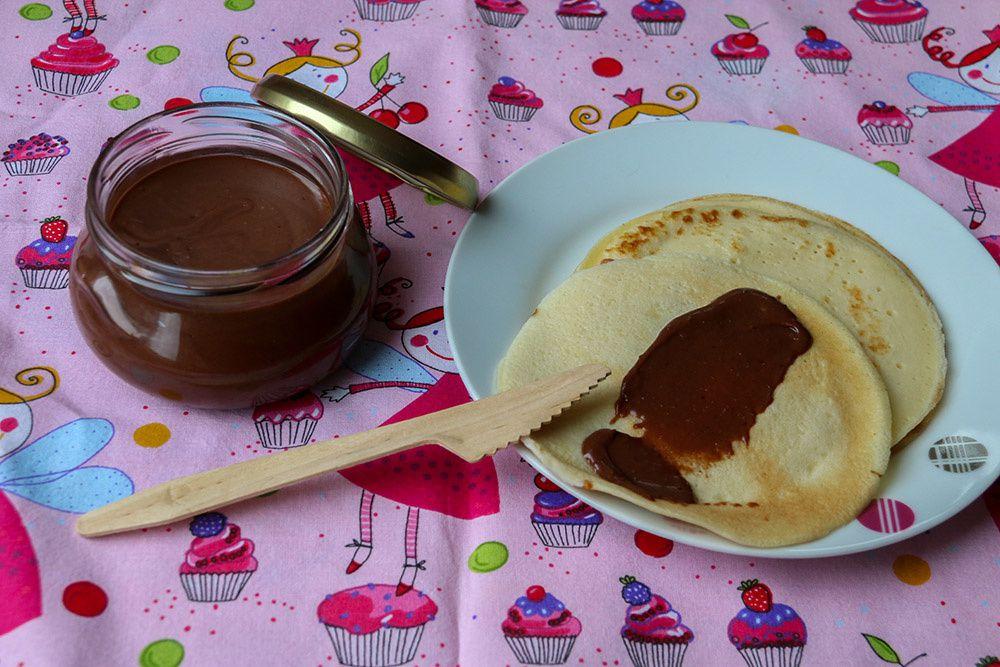 Pâte à tartiner chocolat - noisettes Maison (au Thermomix)
