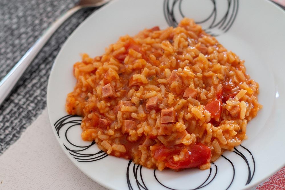 Risotto aux tomates (au Cookeo)