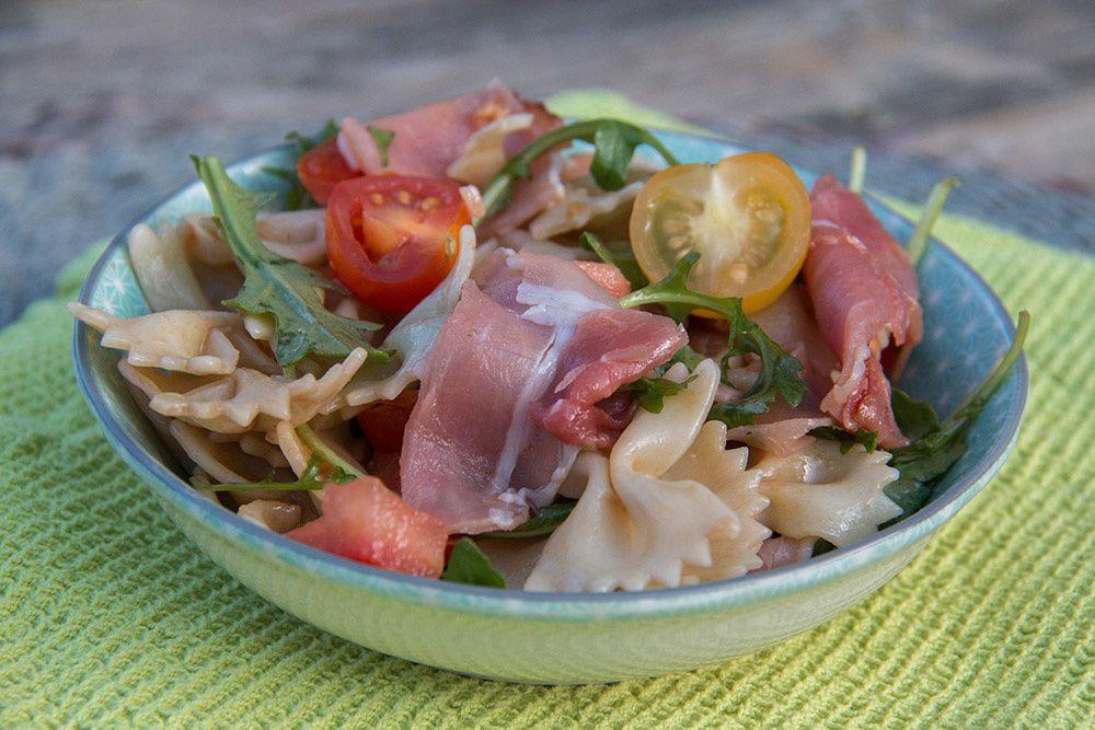 Salade Farfalle - jambon cru
