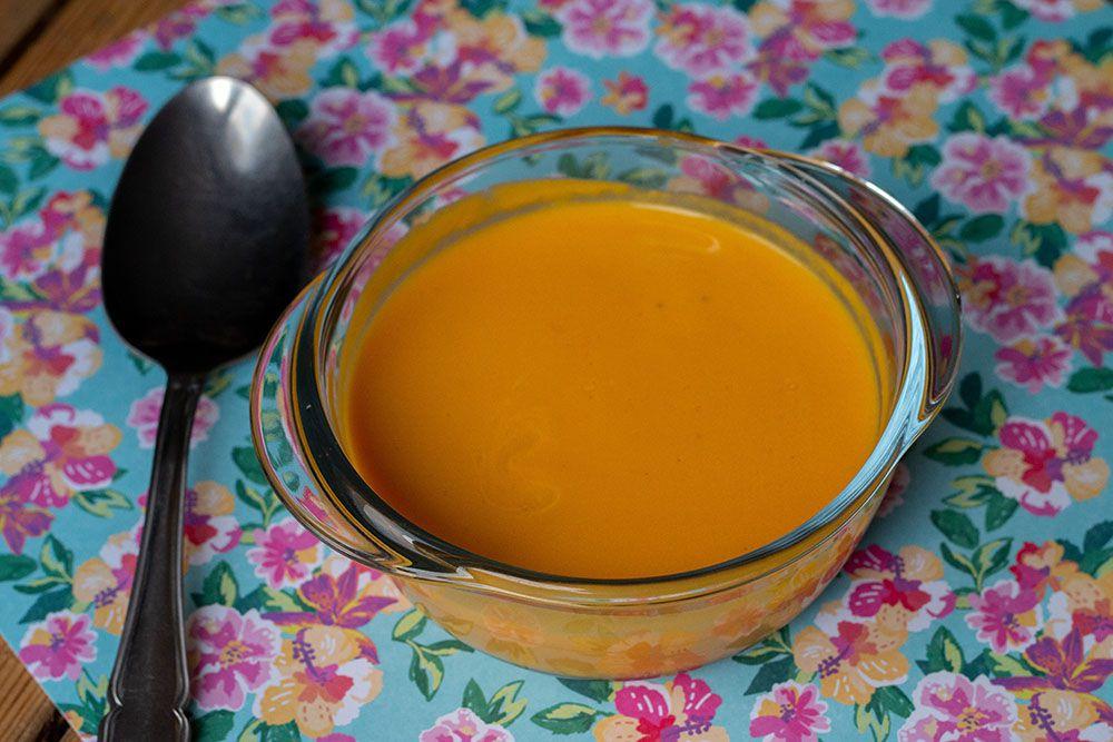 Velouté douceur patates douces, carottes et poireaux (au Thermomix ou sans)