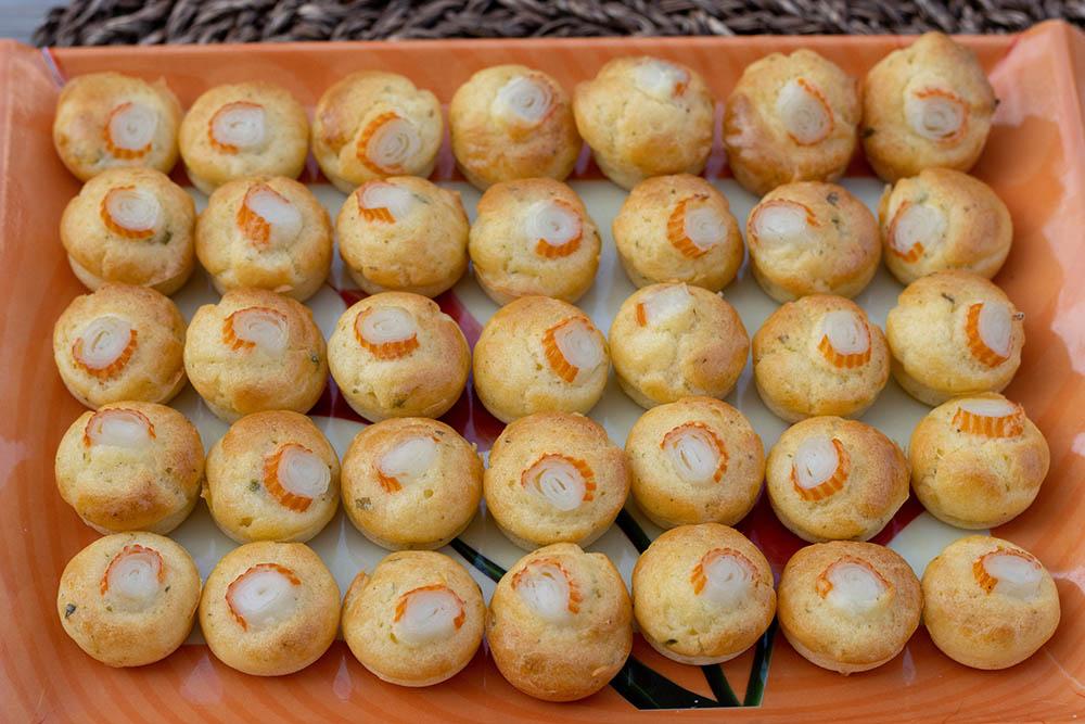 Bouchées surimi ail et fines herbes