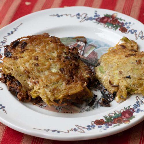 Galettes de pommes de terre (Grumbeerekiechle)
