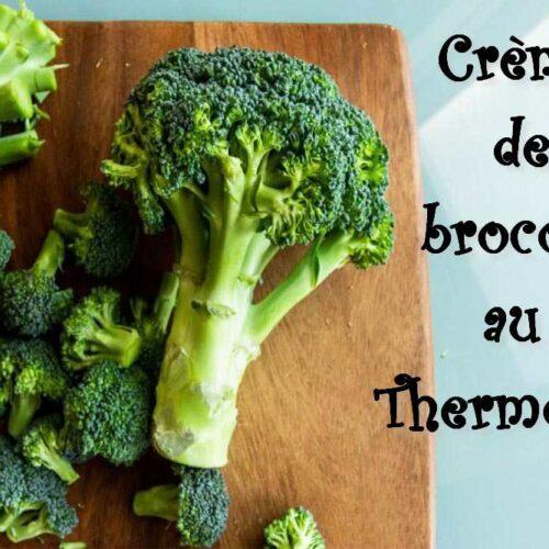 crème de brocolis au Thermomix