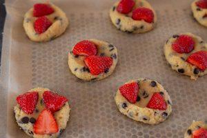 Cookies Fraises et Chocolat