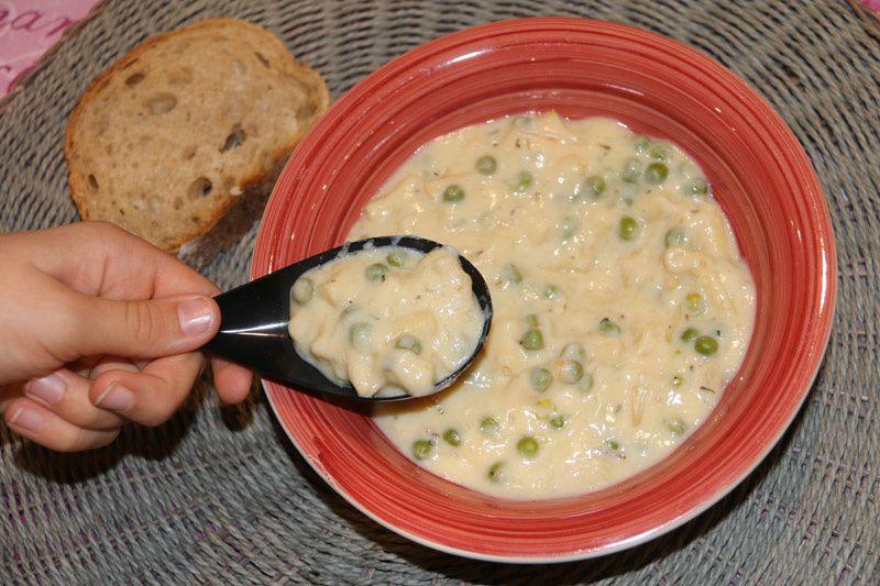 Avgolemono (soupe de pâtes grecque) (au Cookeo)