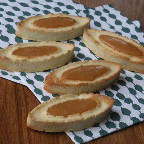 Barquettes au caramel au beurre salé