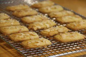 Bâtonnets amandes et chocolat (Bredele - Petits gâteaux de Noël) 1