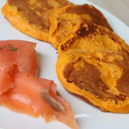 Blinis de patates douces pour l'apéro (recette Tupperware)