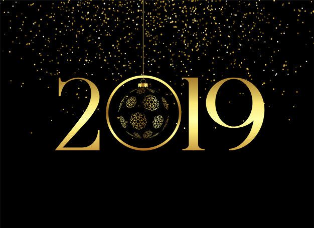 Bonne année 2019 !!!!
