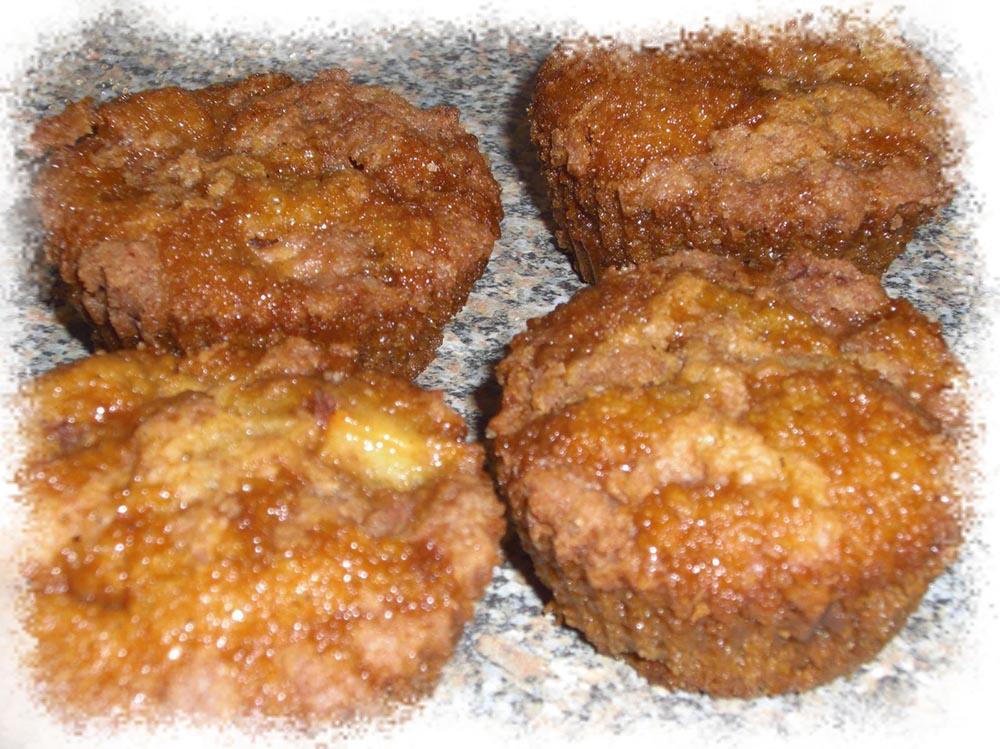 Bouchées fondantes pomme-cannelle