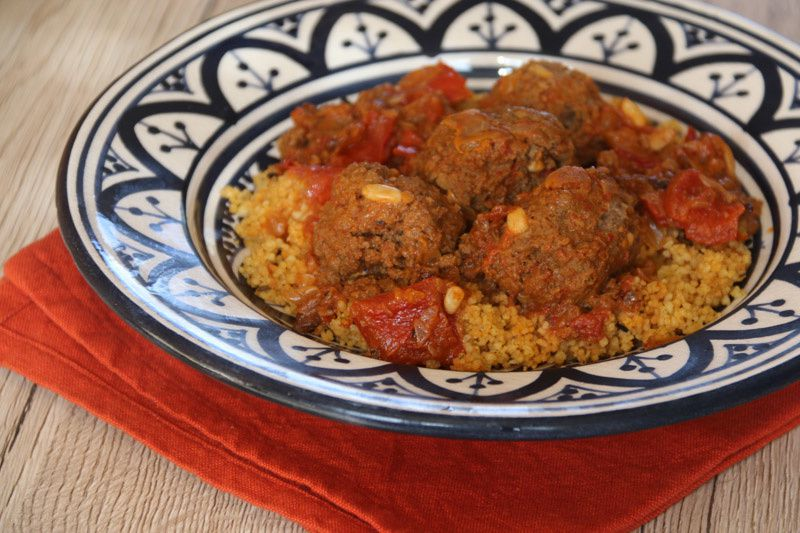 Boulettes à la tomate (recette libanaise)
