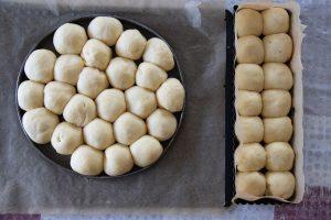 Brioche au fromage, figues et noix (pour l'apéro)