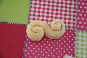 riochettes spirales au sucre perlé