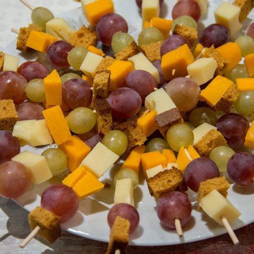 Brochettes d'automne (recette Apéro)