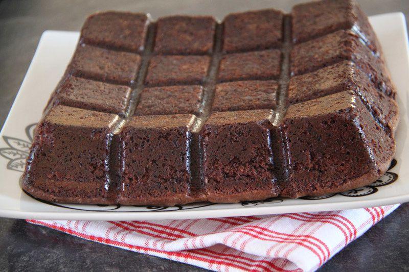 Brownies à la betterave et aux framboises