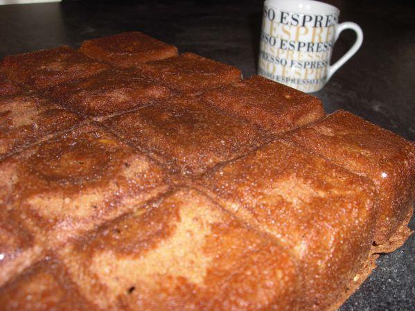 Brownies au café