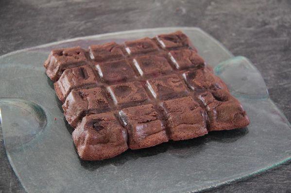 Brownies aux cerises