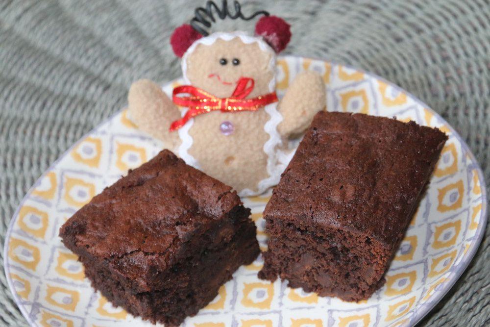 Brownies aux dattes et au cacao