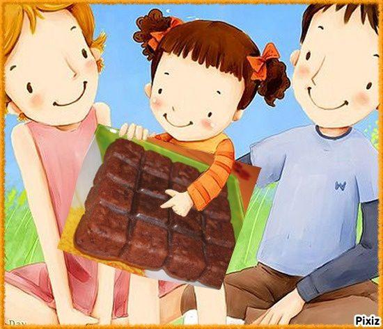 Brownies de Julie Andrieu