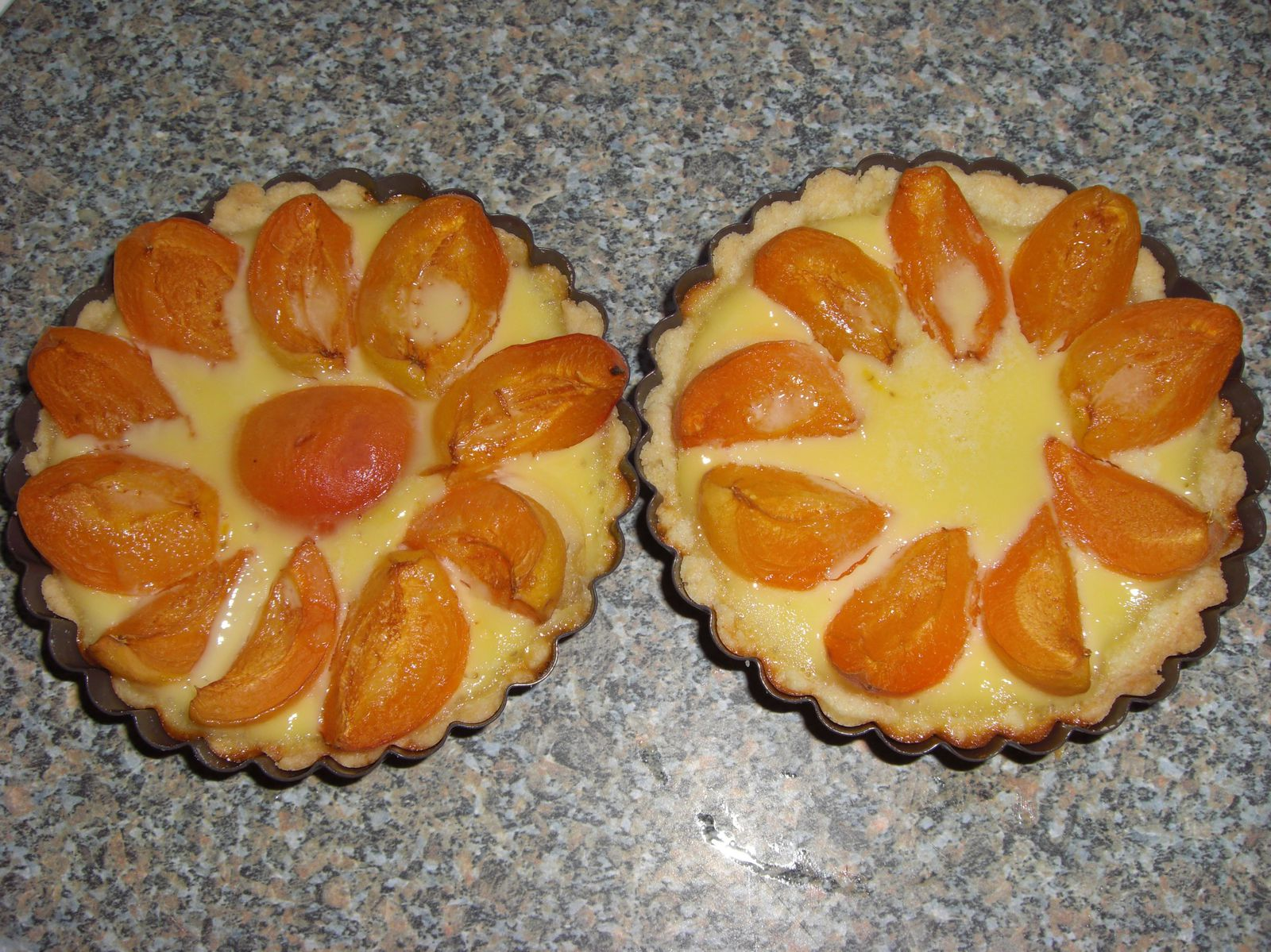 Clafoutarte d'abricots