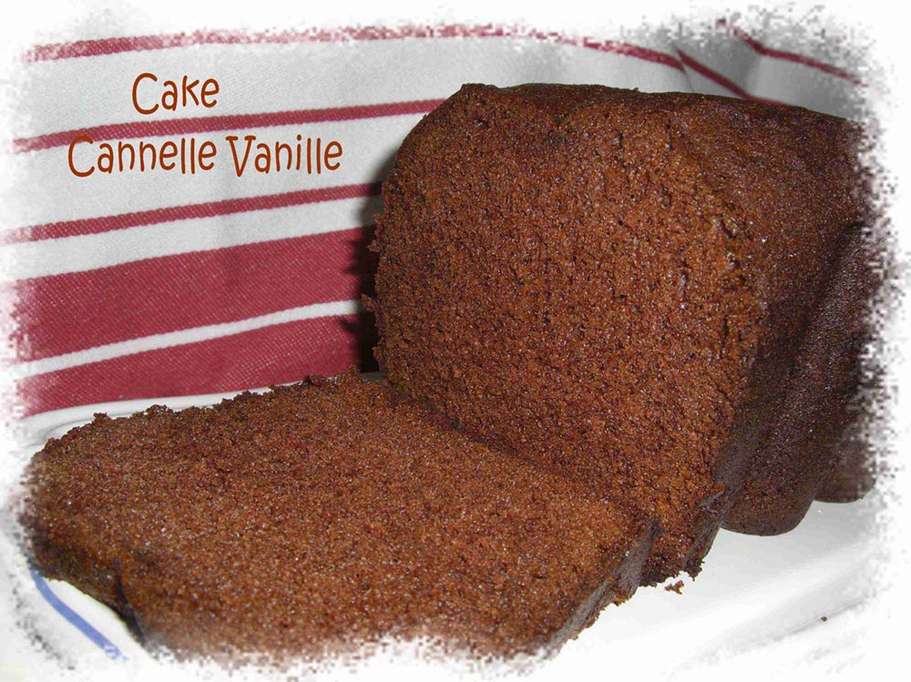Cake Cannelle Vanille