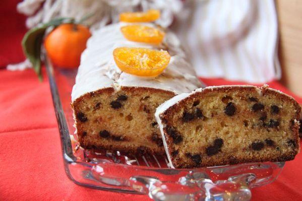 Cake Mandarine – Chocolat