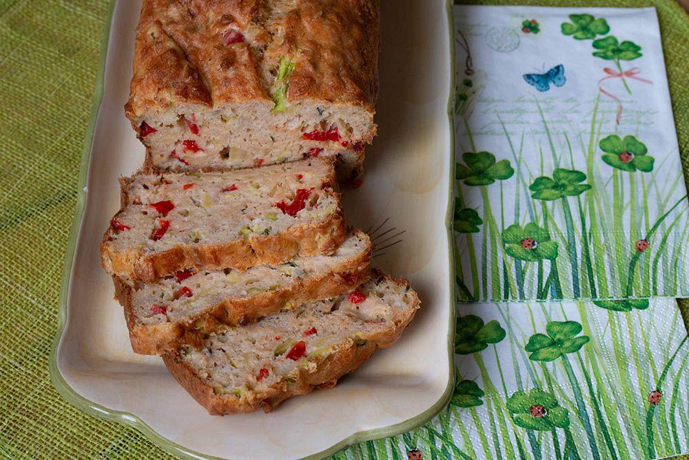 Cake Thon Poivron Courgettes