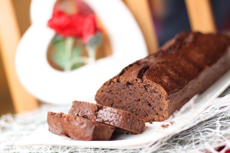 Cake au chocolat et à la fleur de sel de Pierre Hermé