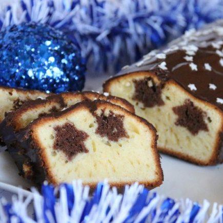 Cake aux étoiles de Noël