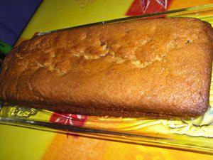 Cake aux pépites de chocolat et à l'orange