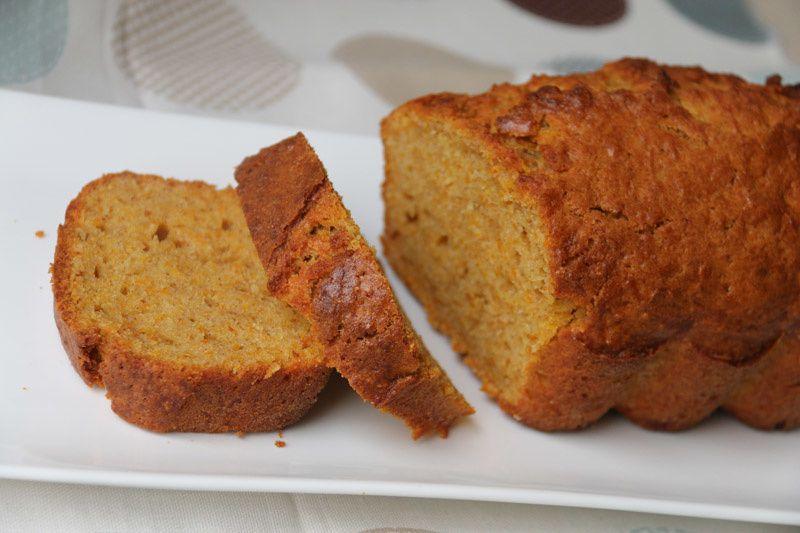 Cake aux patates douces et aux épices (recette Tupperware)