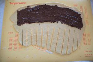 Chenille briochée au Nutella