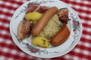 Choucroute alsacienne (recette de Marc Haeberlin)