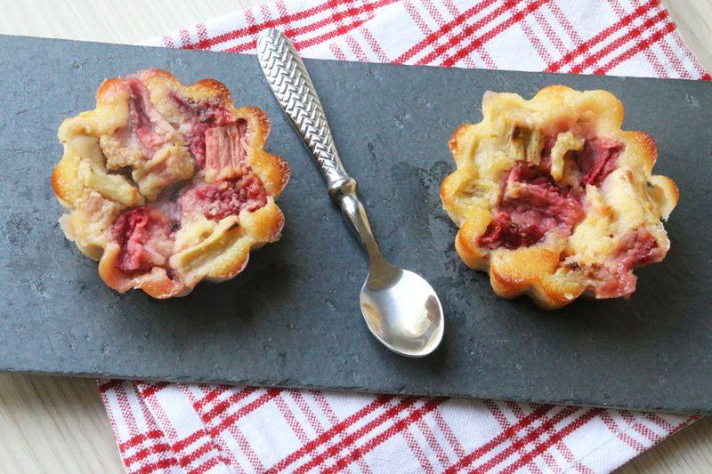 Clafoutis Fraises – Rhubarbe (recette Tupperware)